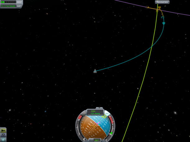 Plotting a planetary intercept course is simple.  If you want it to work, though, you'd better have enough delta-v.