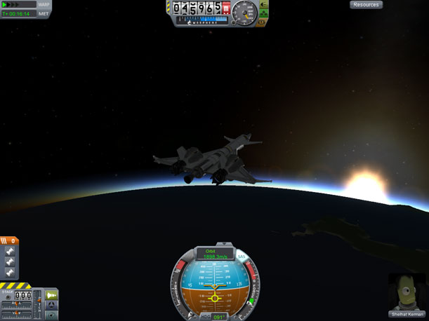 Some experiments just don't work out, like my attempt at a single-stage-to-orbit vehicle.